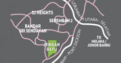 2-storey Terrace House NEW TOWNSHIP near Seremban 2 @Iringan Bayu
