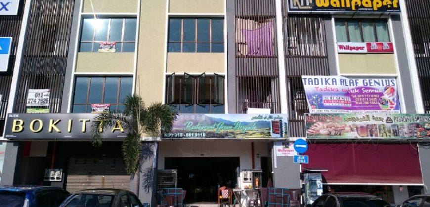 Shop Office untuk DISEWA Plaza CrystalVille @ JALAN VITA Cyberjaya