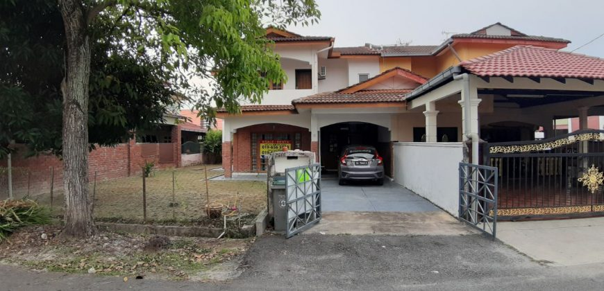 Taman Pokok Mangga Semi D Cantik Dua TIngkat berdekatan Surau dan Politeknik Kota Melaka