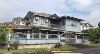 CORNER LOT Double Storey Terrace, Puncak Alam