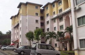 LOW COST Apartment Astana Alam 3, Puncak Alam For Sale